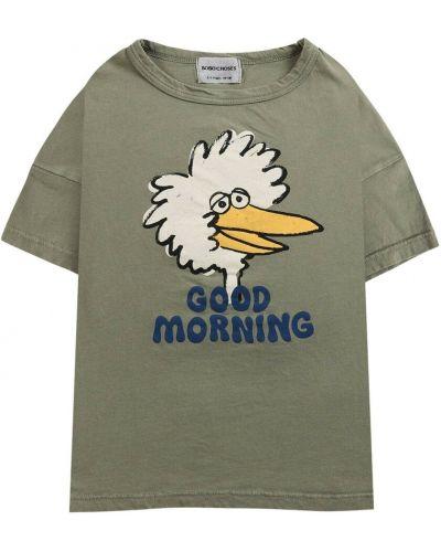 Zielona t-shirt Bobo Choses