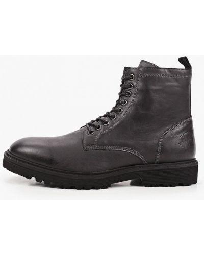 Кожаные черные ботинки Beverly Hills Polo Club