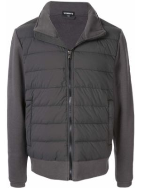 Куртка с капюшоном - серая James Perse