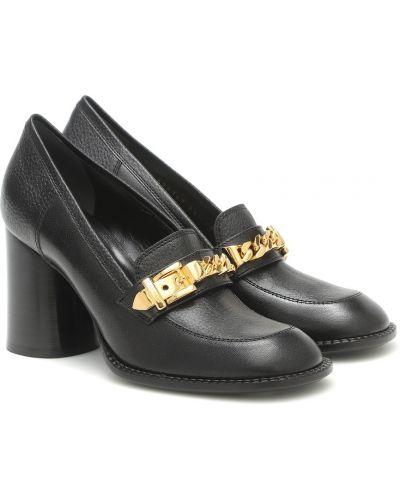 Skórzany złoty czarny łańcuch ze złota przycięte Gucci