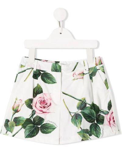 Białe szorty Dolce And Gabbana