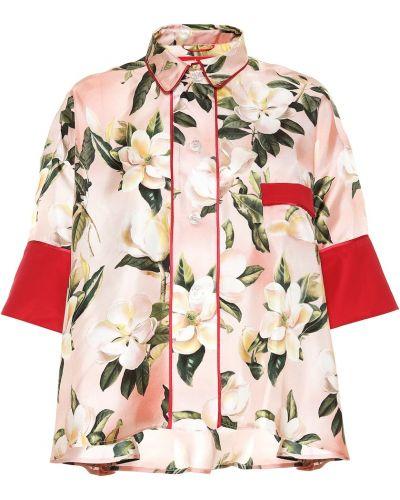 Рубашка фиолетовый с принтом F.r.s. For Restless Sleepers