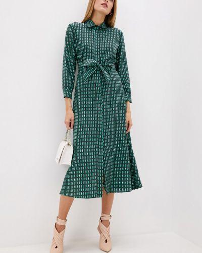 Повседневное платье осеннее зеленый Weekend Max Mara