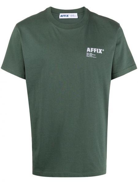 Koszula krótkie z krótkim rękawem z logo prosto Affix
