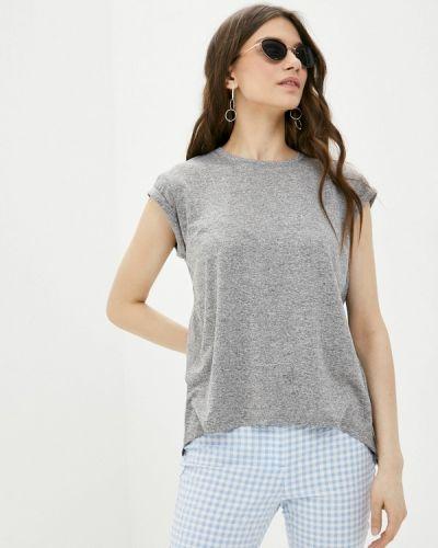 Серая футболка с короткими рукавами W.sharvel