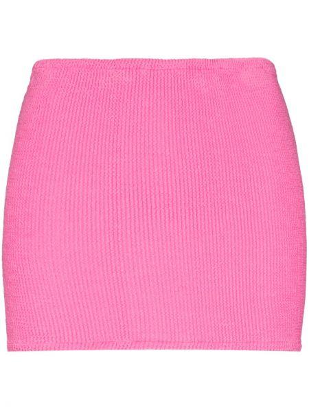 Юбка мини - розовая Hunza G