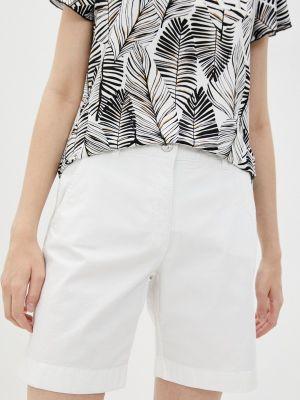 Повседневные белые шорты Betty Barclay