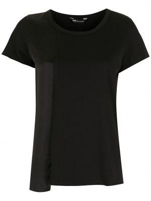 Хлопковая футболка - черная Uma   Raquel Davidowicz