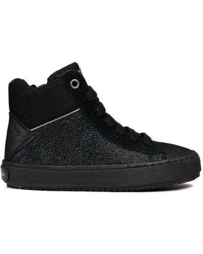 Туфли на каблуке текстильные Geox