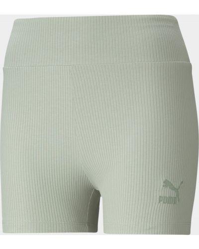Короткие шорты - серые Puma