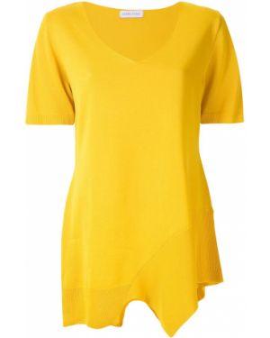 Блузка с короткими рукавами - желтая Mara Mac