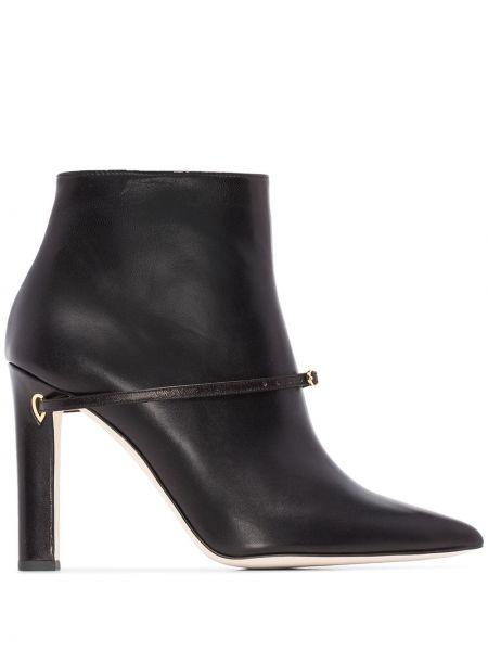 Черные сапоги на высоком каблуке Jennifer Chamandi