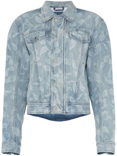 Клубная синяя джинсовая куртка Gmbh