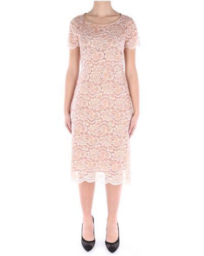 Ażurowa sukienka na co dzień z wiskozy Lanacaprina