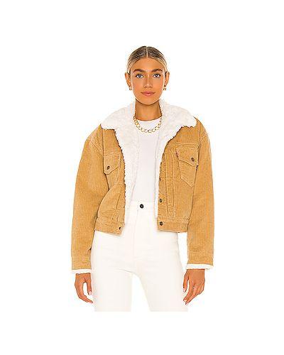 Куртка из искусственного меха с подкладкой на пуговицах Levi's®