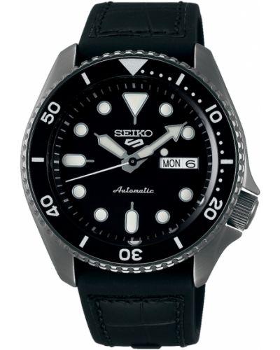 Zegarek sportowy - czarny Seiko