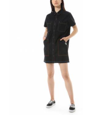 Платье мини на пуговицах платье-рубашка Vans