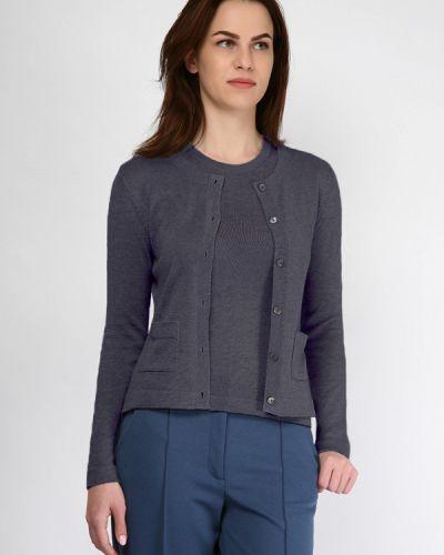 Текстильный фиолетовый кардиган Wardrobe.selected Clothes