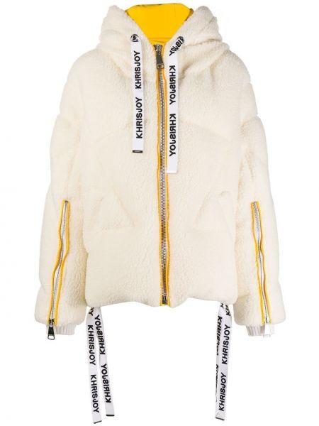 Куртка с капюшоном - белая Khrisjoy