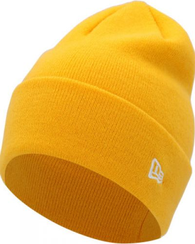 Желтая акриловая шапка New Era