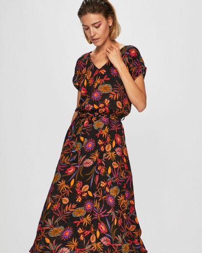 Платье с поясом из вискозы на резинке Medicine