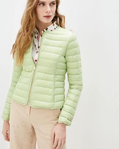 Джинсовая куртка - зеленая Trussardi Jeans