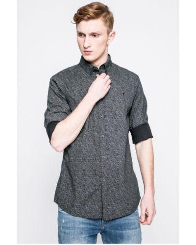 Черная рубашка Trussardi Jeans