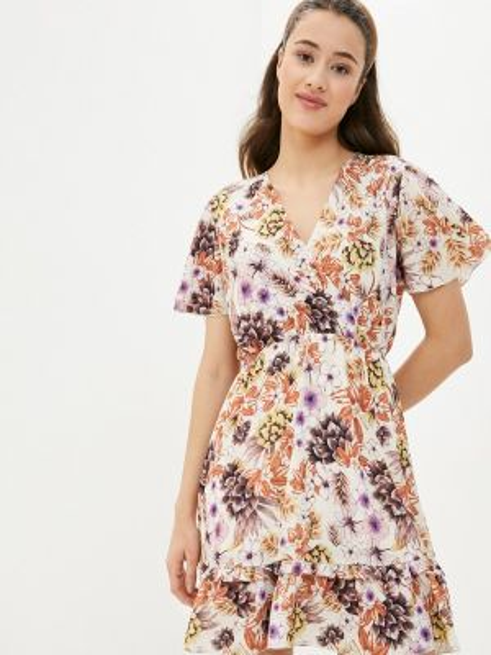 Платье прямое бежевое Perfect J