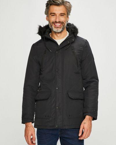 Куртка с капюшоном - черная Tokyo Laundry