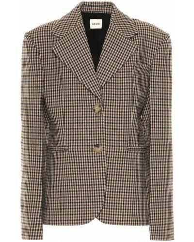 Нейлоновый пиджак винтажный Khaite