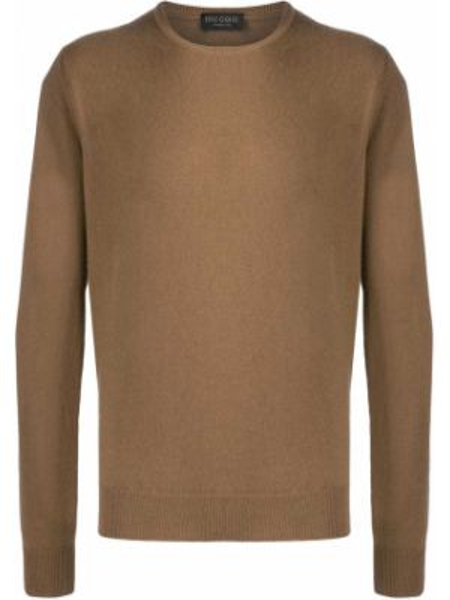 Sweter włosy wielbłąda wełniany Dell'oglio
