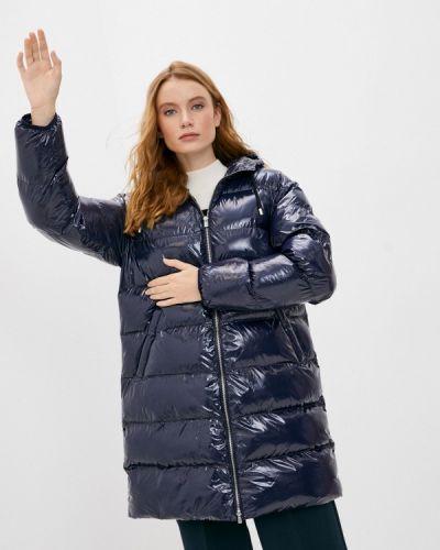 Теплая синяя куртка Pinko