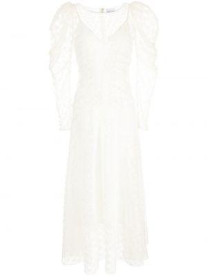 Платье миди расклешенное - белое Alice Mccall