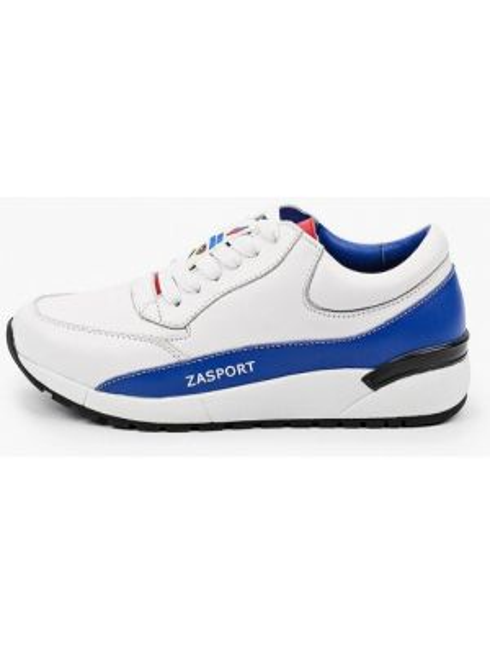 Кроссовки белый низкие Zasport