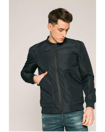 Утепленная куртка темно-синяя синяя Casual Friday