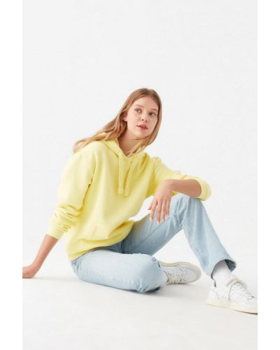 Желтая кофта на молнии Mavi