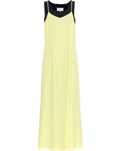 Желтое платье Maison Margiela