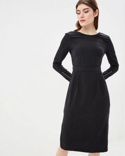 Платье осеннее черное Befree