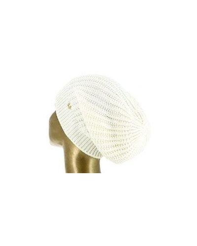 Белая шапка Luisa Spagnoli