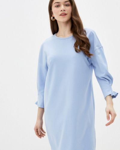 Платье - голубое Sela