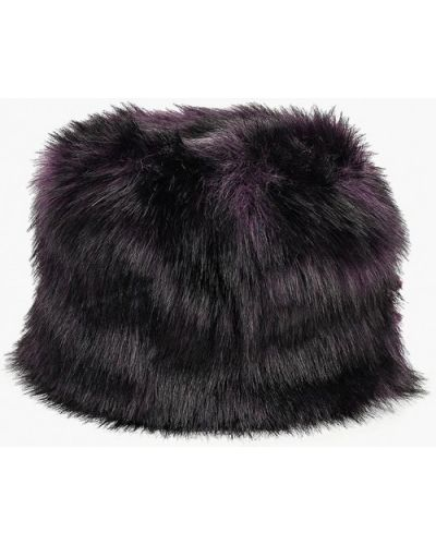 Фиолетовая шапка осенняя Zima