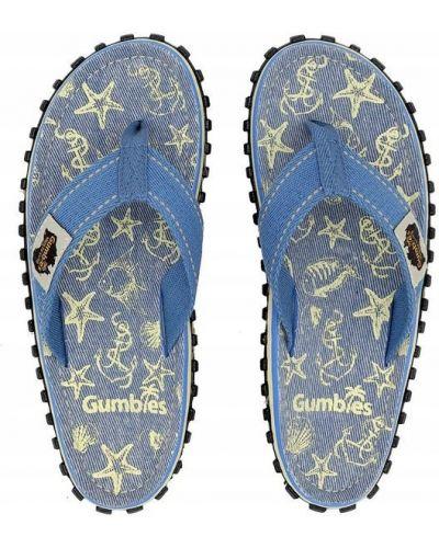 Niebieskie japonki Gumbies
