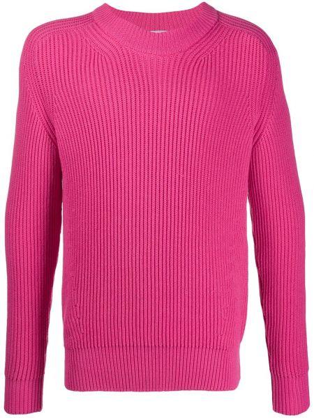 Вязаный свитер - розовый Ami Paris