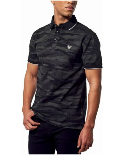 Czarna koszulka Kaporal