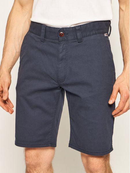 Szorty jeansowe materiałowe Tommy Jeans
