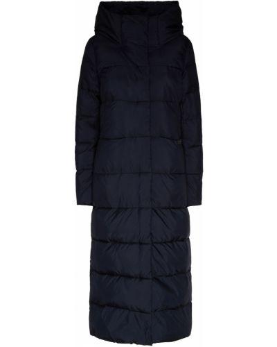 Пальто с капюшоном длинное стеганое Milamarsel