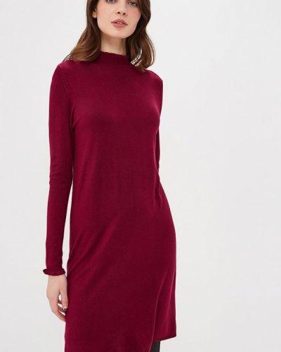 Платье осеннее фиолетовый Only