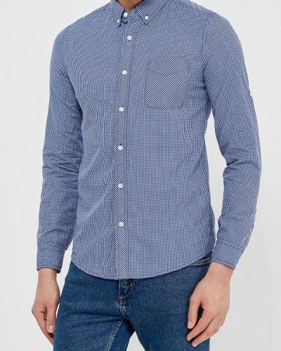 Синяя рубашка с длинным рукавом Colin's