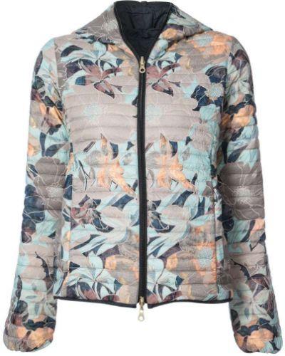 Куртка с капюшоном длинная дутая Duvetica