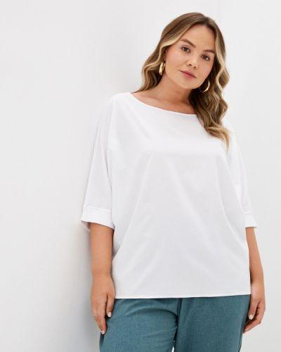 Белая весенняя блузка Mankato